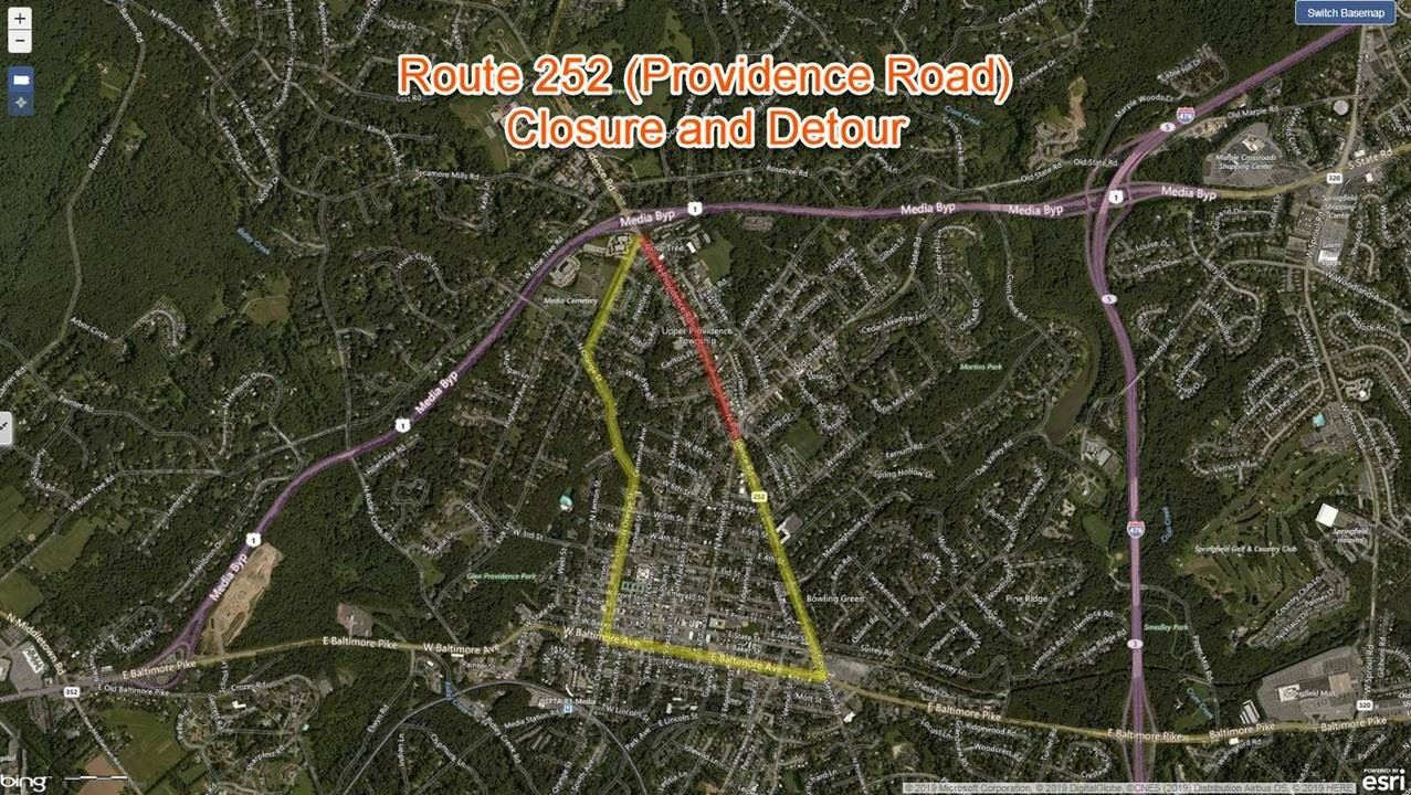 252 Road Closure
